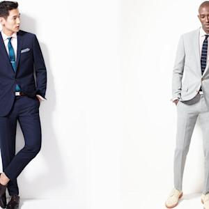 For Summer, Men's Suits Go Unlined