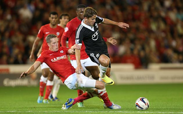 Soccer - Capital One Cup - Second Round - Barnsley v Southampton - Oakwell