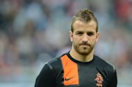 Netherland's midfielder and vice-captain Rafael van der Vaart prior to the friendly between Bayern Munich and the Netherlands national team in Munich, southern Germany, on May 22. Van der Vaart added to the turmoil within the Euro 2012 squad on Tuesday by saying he was extremely disappointed at not having started their opening match against Denmark
