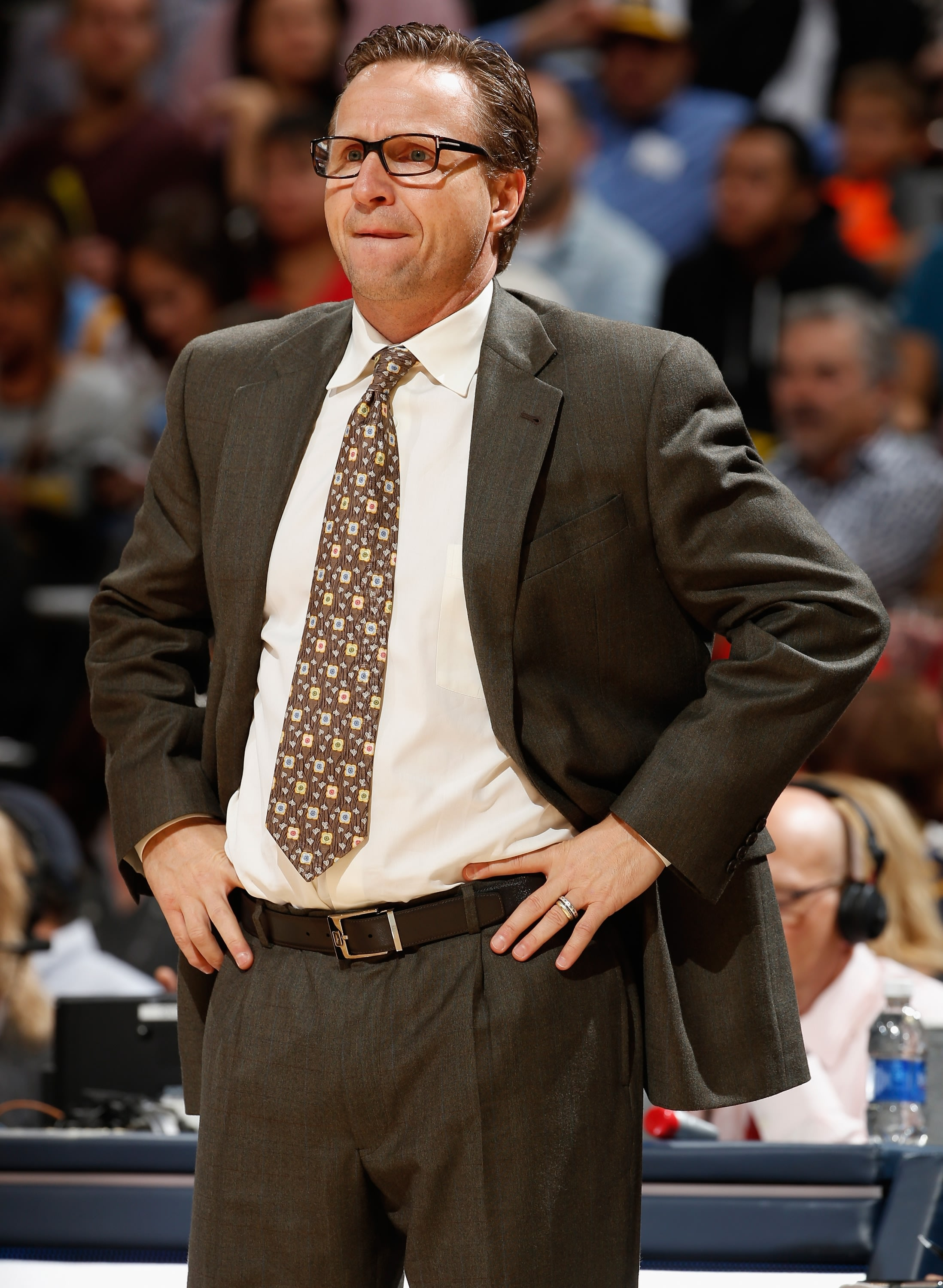 Scott Brooks guided the Thunder to the 2012 NBA Finals. (Getty Images)