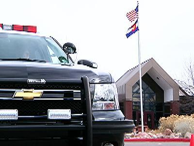Officers in School Parking Lots Boost Security