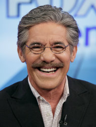 FILE - Geraldo Rivera on the &quot;Fox & friends&quot; television program in New York in this June 25, 2010 file photo. Rivera, who hosts a weekend show on Fox News Channel, said Thursday Jan. 31, 2013 he&#39;s seriously thinking about running for U.S. Senate in New Jersey. (AP Photo/Richard Drew, File)