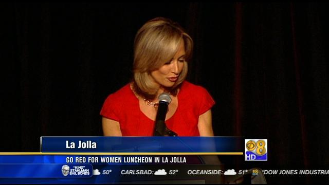 Go Red for Women Luncheon in La Jolla