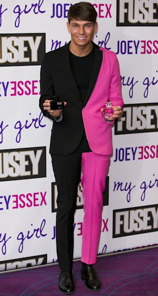 Joey Essex perfume launch 2013