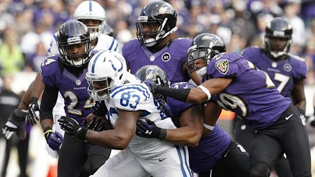The Baltimore Ravens subdue the Indianapolis Colts (Reuters)