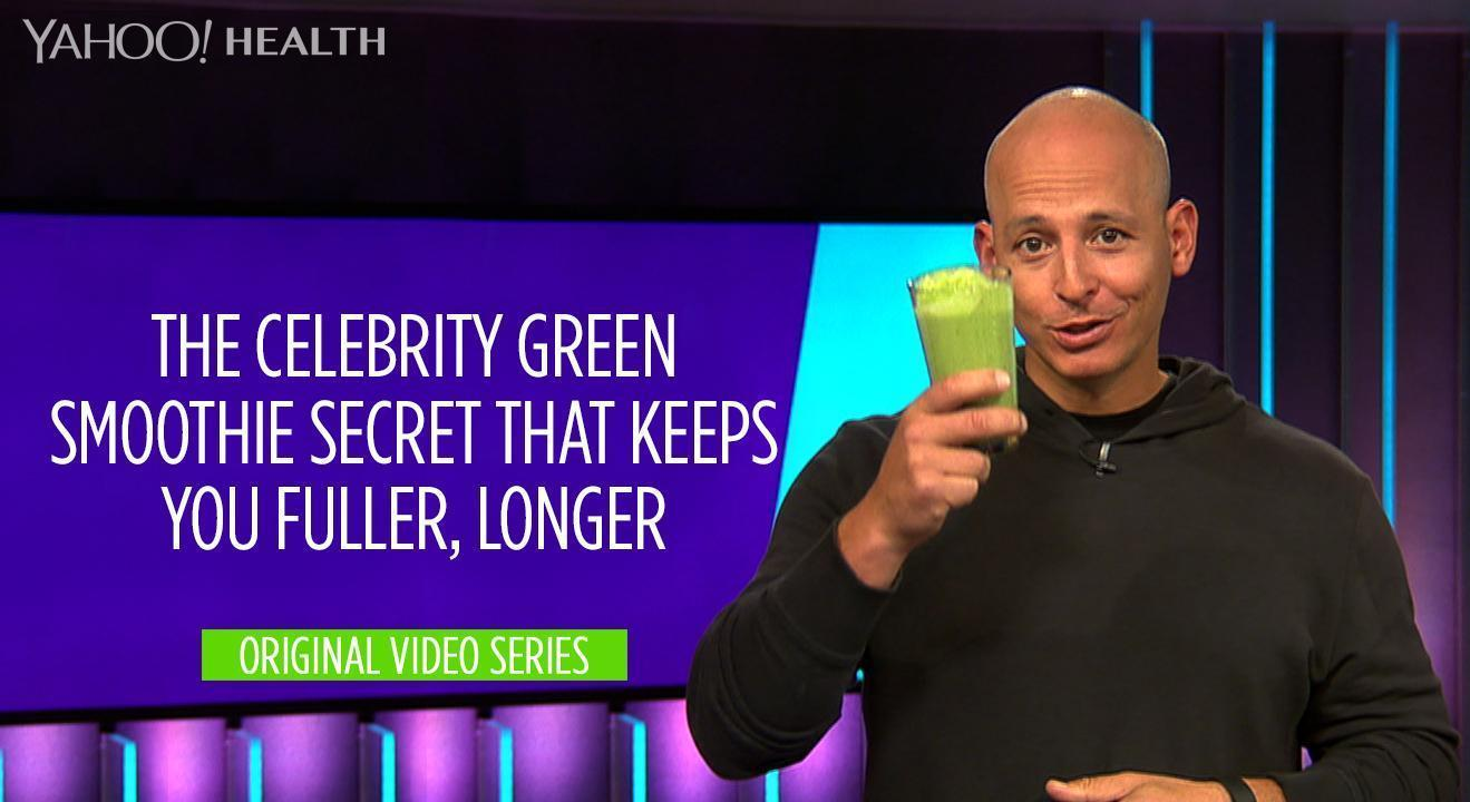 The Celebrity Green Smoothie Secret That Keeps You Fuller, Longer