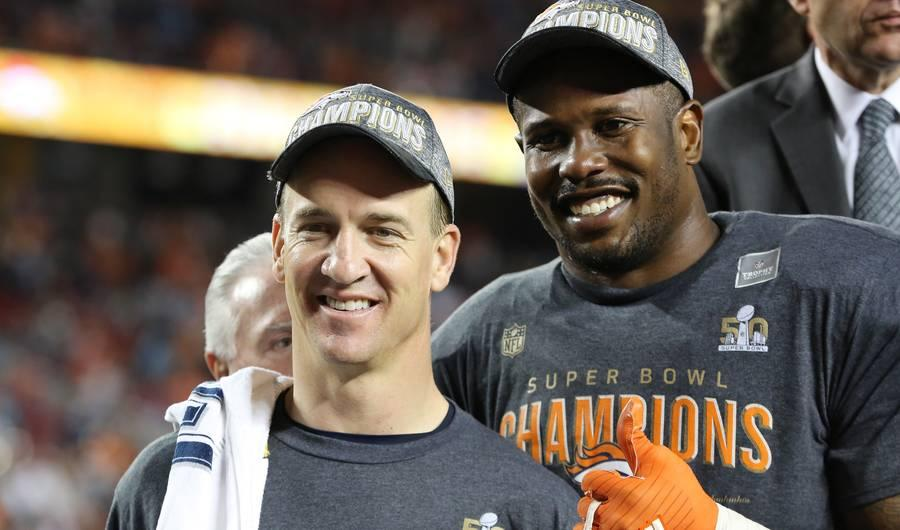 Here's What Peyton Manning Had to Say About Cam Newton's Quick Postgame Interview