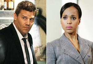 David Boreanaz, Kerry Washington | Photo Credits: Patrick McElhenney/FOX, Danny Feld/ABC