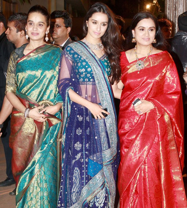 A star studded reception for…