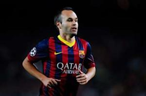 Iniesta's new Barca deal finally ends Madrid dream of signing Spain star