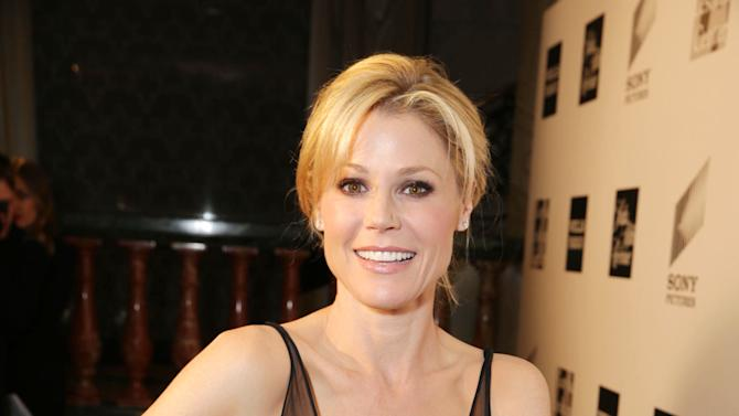 Julie Bowen at The L.A. Gay & Lesbian Center for 'An Evening Honoring Amy Pascal and Ralph Rucci', on Thursday, March, 21, 2013 in Beverly Hills. (Photo by Eric Charbonneau/Invision for  Sony Pictures Entertainment/AP Images)