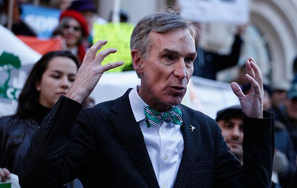 Bill Nye's solution for climate change