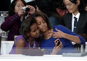 Sasha And Malia Obama: The First Daughters' Cutest Inauguration Day Moments