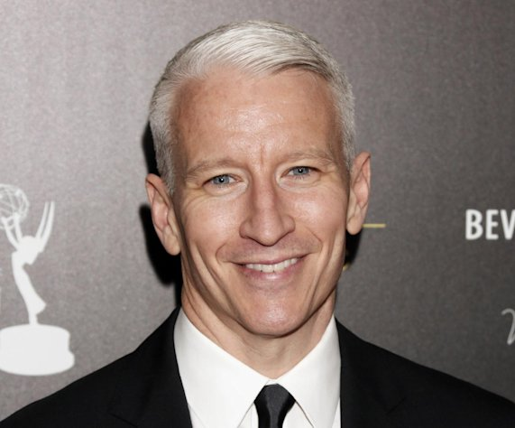 FILE - This June 23, 2012 file photo shows CNN&#39;s Anderson Cooper as he arrives at the 39th Annual Daytime Emmy Awards at the Beverly Hilton Hotel in Beverly Hills, Calif. Cooper&#39;s daytime talk show will be wrapping after two seasons. Warner Bros. said Monday, Oct. 29, 2012, that the marketplace made it increasingly difficult for &quot;Anderson Live&quot; to &quot;break through&quot; to viewers despite format changes. (Photo by Todd Williamson/Invision/AP, file)