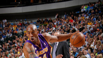 Bryant outscores Nowitzki as Lakers top Mavs