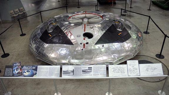 Cold War 'Flying Saucer' Was a Clumsy Air Force Hover Vehicle