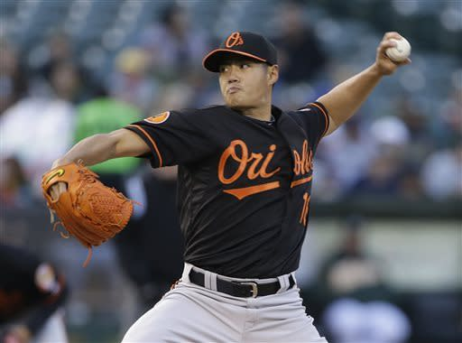 Chen's strong start lifts Orioles over A's 3-0