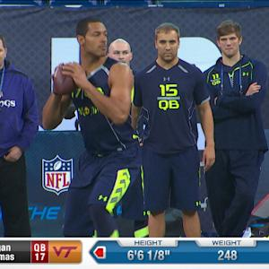 2014 Combine workout: Logan Thomas