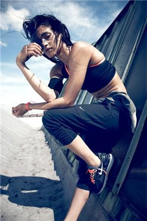 Workout secrets of fit women
