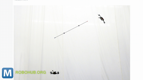 Quadrotors Can Toss and Balance Inverted Pendulums Perfectly