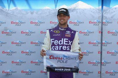 NASCAR Dover 2015 qualifying results: Denny Hamlin captures pole, leads strong Joe Gibbs Racing showing