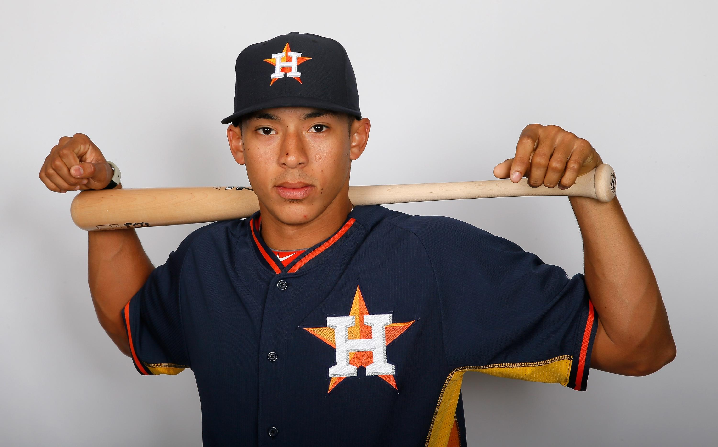 Carlos Correa sent his latest home run out of the stadium