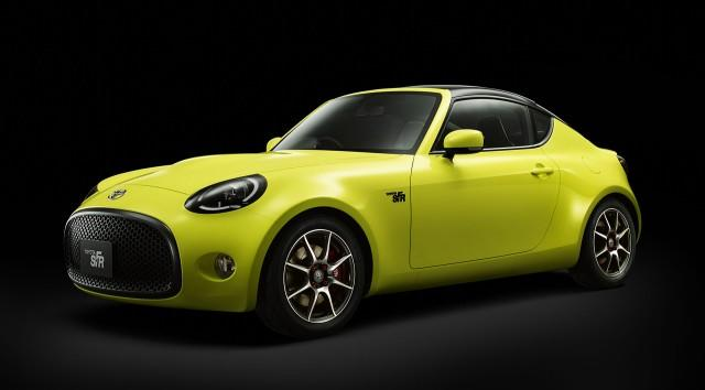 Toyota Previews New Entry-Level Sports Car With S-FR Concept