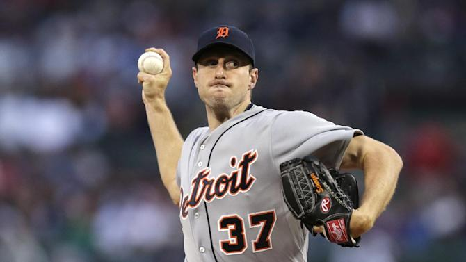 Scherzer pitches Tigers past Red Sox, Lester 1-0