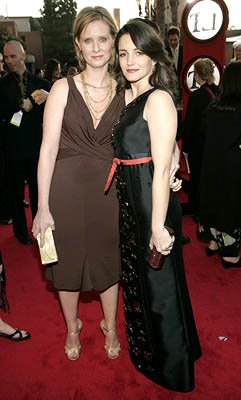 Cynthia Nixon and Kristin Davis Screen Actors Guild Awards - 2/5/2005