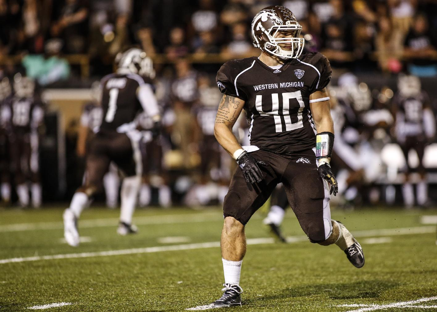 Western Michigan walk-on Grant DePalma awarded scholarship (Video)