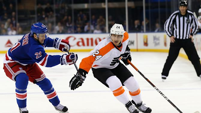 Philadelphia Flyers v New York Rangers