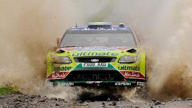 Jari-Matti Latvala of Finland (Reuters)
