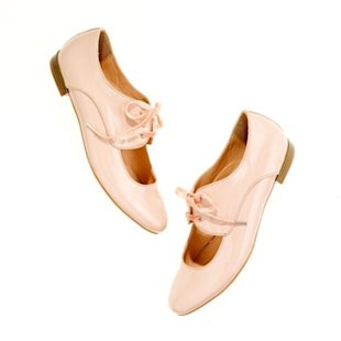 Ballet pink with cut-out