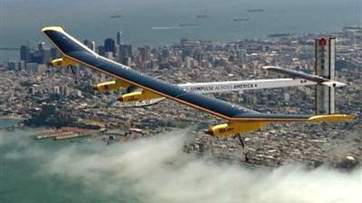 Solar Plane 'a Breakthrough'