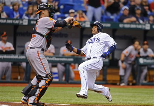 Davis drives in 4 to power Orioles past Rays