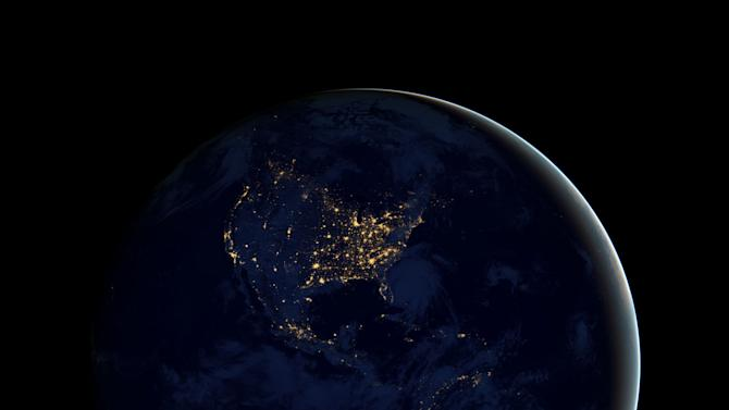 Spectacular Black Marble Images Show Earth in Darkness