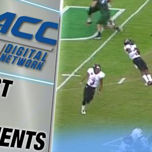 Arkansas State Player Plays Dead During Fake Punt | ACC Must See Moment.