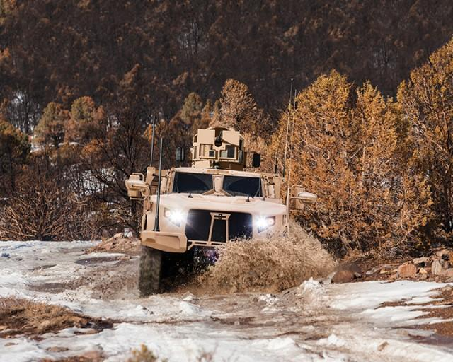 New Oshkosh JLTV Military Vehicle Replaces Well-Known Humvee: Video