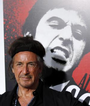 "Actor Al Pacino arrives at ""Scarface"" Legacy Celebration Event in Los Angeles, Tuesday, Aug. 23, 2011. ""Scarface"" will be released on Blu-ray September 6, 2011.  (AP Photo/Matt Sayles)"