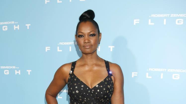 "Garcelle Beauvais arrives to the LA Premiere of ""Flight"" at the Cinerama Dome on October 23, 2012 in Los Angeles, CA.  (Photo by Todd Williamson/Invision/AP Images)"