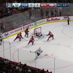Carey Price Save on Leo Komarov (15:42/2nd)