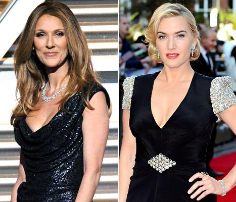 "Celine Dion Responds to Kate Winslet's Distaste for ""My Heart Will Go On"""