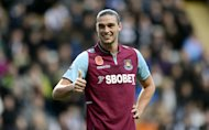 West Ham's Andy Carroll ended his 1,062-minute Barclays Premier League goal drought