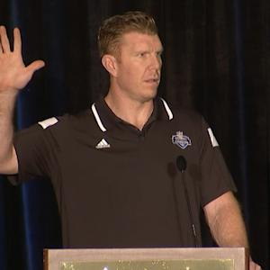 Director of football development Matt Birk: 'Every football player deserves the chance to chase his dream'