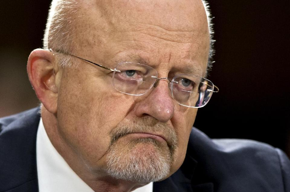 Clapper apologizes for 'erroneous' answer on N