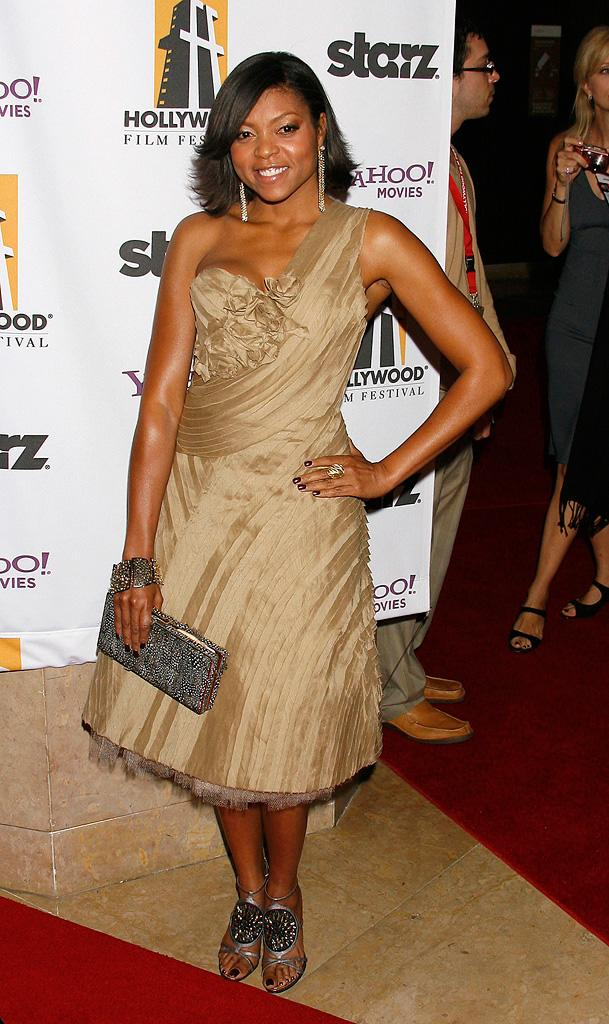 Hollywood Film Festival Awards Gala 2008 Taraji P Henson