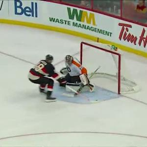 Jason Spezza jukes out Mason on shootout goal