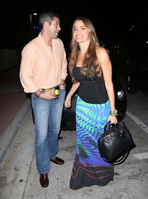 Nick Loeb and Sofia Vergara are seen at Prime 112 Steakhouse on January 2, 2013 in Miami Beach -- Getty Images