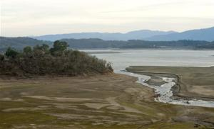The Russian River's east fork empties into Lake…