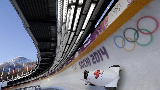 Canadian bobsledder's website blocked in Russia